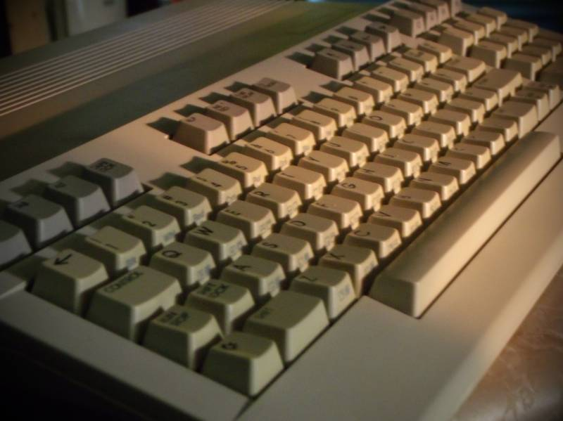 C128 in the summer sun